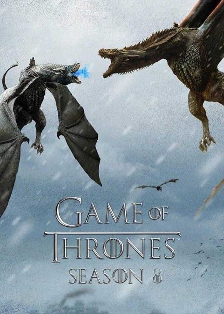 权力的游戏第八季海报